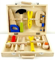 Wooden Toy Carpenter Tool Kit by Egmont Toys - A Whole Lot of Love