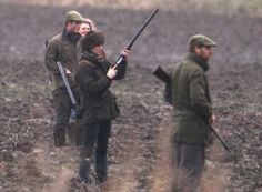 Young royals shooting at Sandringham.