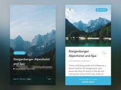 Travel app by Cai Cardenas