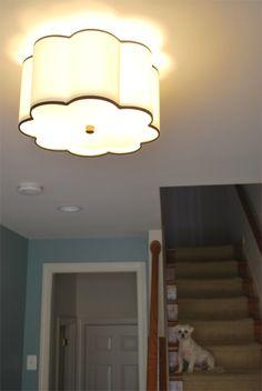 18 Scalloped Drum Shade Pendant Large Pendants Ceiling Lights Toronto Bath And Vanity Lighting Chandelier Outdoor K