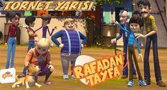 Rafadan Tayfa Tornet Yarışı oyunu