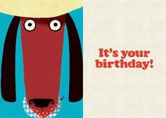 Roger la Borde | Odd Dog Out Petite Card by Rob Biddulph CARD INTERIOR