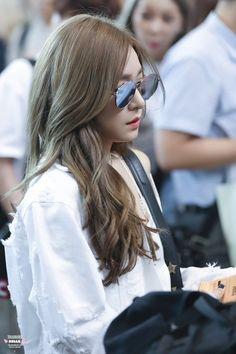 Tiffany - Gimpo Airport to Jeju Tiffany Girls, Snsd Tiffany, Tiffany Hwang, Girls' Generation Tiffany, Girls Generation, Sooyoung, Yoona, Taeyeon Jessica, Forever Girl