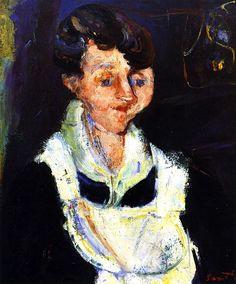 Waiting Maid Chaim Soutine - circa 1933