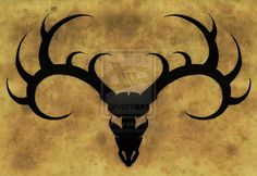 Deer Skull Tattoo with barbwire Ideas for Men   Stag Tattoo ver. I by AnaKarniolska
