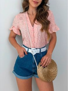 24 ideas fashion hipster summer shirts for 2019 – Q Outfits – Summer Outfit Ideas Summer Fashion Outfits, Summer Outfits Women, Short Outfits, Outfits For Teens, Trendy Dresses, Casual Dresses, Casual Outfits, Cute Outfits, Casual Shirts