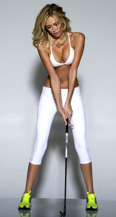 Paulina Gretzky Golf Digest Photoshoot - not sure whether our ladies section would approve...