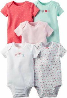 Carter's I Make Auntie Smile /& Butterflies 3-pc Bodysuits Set 6-12 Months /& 24