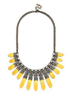 Pin for Later: Olivia Palermo's BaubleBar Collection Will Make Your Jaw Drop  Roma Collar ($48)