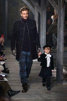 Mini Me - Chanel Fall/Winter Men's Collection 2013