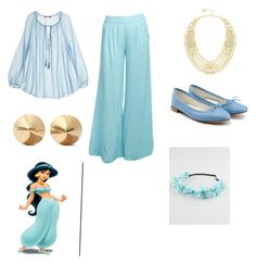 """Jasmine"" by legendarylayla on Polyvore featuring beauty, Calypso St. Barth, Stylista Original, Eddie Borgo, BCBGMAXAZRIA, Repetto and Full Tilt"