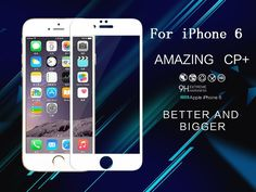 film on the for iPhone 6 Complete Covering Anti-Explosion Tempered Glass Screen Protector For Apple iPhone 6S/iphone 6 (4.7inch)