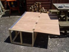Top folds out to make double bed