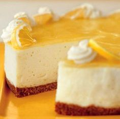 Lemon Bavarian Cream Pie