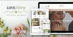 Love Story is an elegant 100% responsive WordPress theme with a fashionable and tender look. It's designed for a wedding planning agency, an individual wedding planner, or any event planning company (parties, meetings, conferences).
