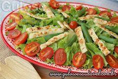 Receita de Salada Crocante de Vagem