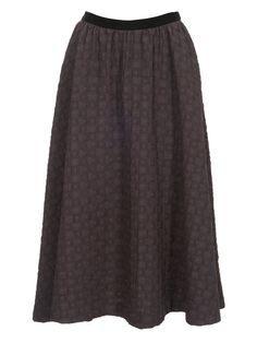 Free Pattern - Bell Skirt, calf length with wide swirl.