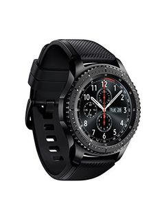 Samsung Gear Frontier Smartwatch GPS Bluetooth Fitness Heart Rate Outdoor Wearable Smart Watch Waterproof For iPhone Android Wi Fi, Moto Suzuki, Best Smart Watches, Samsung Gear S3 Frontier, Gadgets, Wearable Technology, Mobiles, Fitness Tracker, Stainless Steel Case