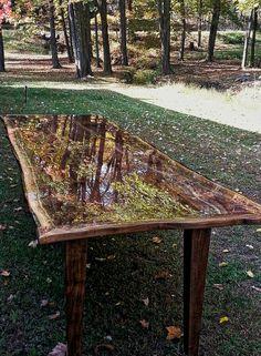 Epoxy Table #epoxy #resin #coating