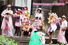 [PAX PRIME 2014 - LEAGUE OF LEGENDS] SNSD (소녀 시대) POPSTAR MEDLEY