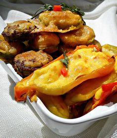 Domaćica za vas: Tikvice iz rerne i paprike sa sirom