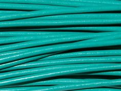 Greek Leather Cord 1.5mm - Aqua from Nosek's Just Gems