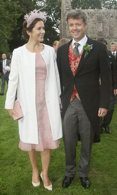 Princess Mary and Prince Frederik attended the wedding of an actress in Denmark on 30.08.2014