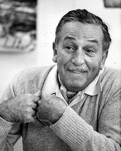 Happy 100th Walt Disney pin! Walt is such an inspiration to me, and this picture shows some of his personality that we all love so much! - CarolynLarkspur