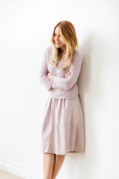 Lauren Conrad's Favorite Spring Skirt Silhouette