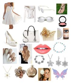 """Fairy of Nature"" by rsh-a-cap-4-e on Polyvore featuring Menbur, Faith Connexion, Calvin Klein, Yves Saint Laurent, Miriam Haskell, Fiebiger, Bling Jewelry, Maria Canale, Cathy Waterman and Effy Jewelry"