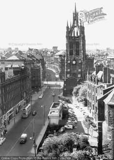 Photo of Newcastle Upon Tyne, The Cathedral from Francis Frith Newcastle Cathedral, New York Skyline, Architecture, Travel, Collection, Arquitetura, Viajes, Destinations, Traveling