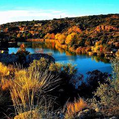 Despidiendo al otoño   Bye bye autumn  Laguna San Pedro Ossa de Montiel
