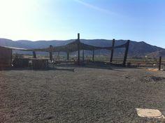 Vena Cava outdoor area in el valle de Guadalupe Baja California wine country
