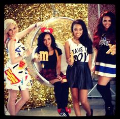 We loved working with the lovely Little Mix girls
