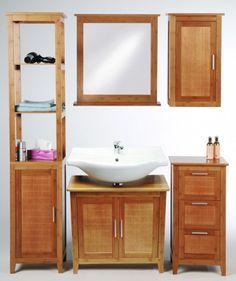 Bambus SET BMBA02 koupelnový nábytek