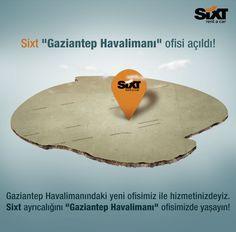Gaziantep Havalimanı ofisimiz açıldı :)