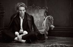 Jamie Campbell Bower looking AMAZING in black luxe. Can the sexiness factor be turned up any higher?!??!!!