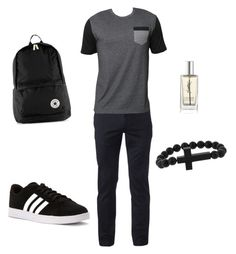 """""""mens outfits"""" by nashiely15 on Polyvore featuring Urban Pipeline, Billabong, adidas, Topman, Yves Saint Laurent, men's fashion and menswear"""