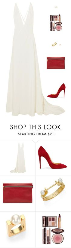 """Sin título #4769"" by mdmsb on Polyvore featuring moda, Michael Lo Sordo, Christian Louboutin, Victoria Beckham, Chloé y Charlotte Tilbury"