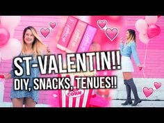 ST-VALENTIN!! DIY, Snacks, Tenues et plus!! | Emma Verde - YouTube