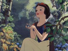 Snow White... wish i could talk to birds.