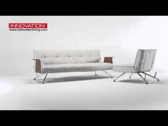Innovation Living Clubber Sofa Bed & Chair With Arms Sofa Bed Video, Module, Love Seat, Innovation, Arms, Couch, Chair, Videos, Furniture