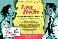 Broken hearts. Bad romance. Star-crossed lovers. Rancid relationships. Get ready for a healthy pour of heartache with our 2015 Winter Reading Program: LOVE ON THE ROCKS http://kclibrary.org/reading2015