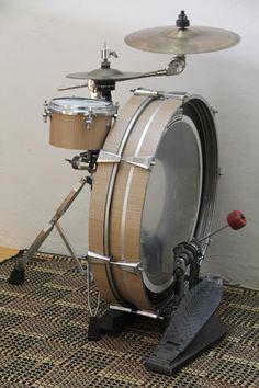 Apartment drums. Tee, hee.