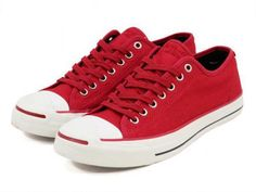 UNDEFEATED × CONVERSE JACK PURCELL RED sneaker