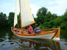 """Florence Oliver"" at Beale Park, 18ft sjekte built by Adrian Morgan of Viking Boats of Ullapool - http://www.viking-boats.com/index.htm"