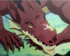 R.I.P Igneel the king of the fire dragons. The dragon that took in a wandering human (food for dragons) and raised him as his son. BEST DAD EVER