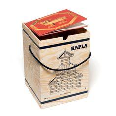 Coffre 280 pièces et livre Kapla pour enfant de 4 ans à 12 ans - Oxybul éveil et jeux