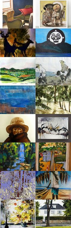Import Art by Jenn G. Paintings from artists in 16 different countries. #Etsy