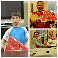 Crafting with the kids! Great volunteer activity!  Ronald McDonald House in Birmingham, AL.